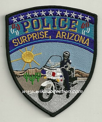 Surprise Arizona Police Department ARIZONA